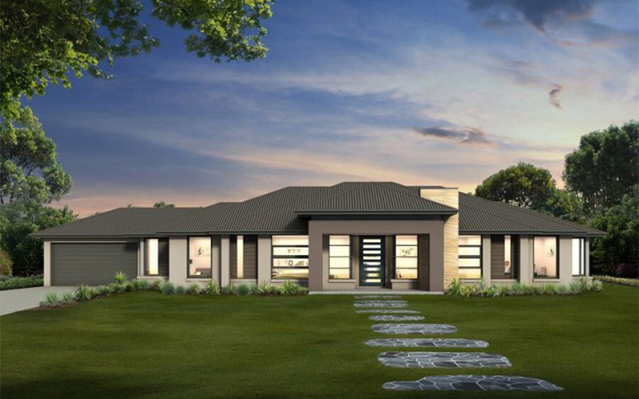 Acreage Home Designs Queensland Rare House
