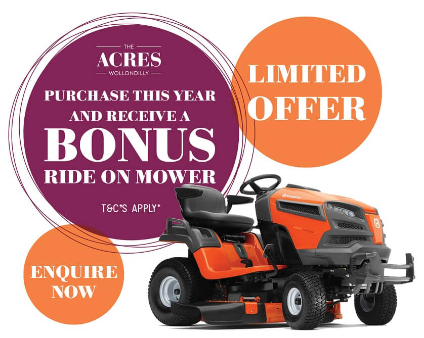 Limited Offer Ride On Mower